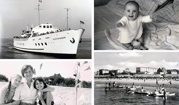 Collage - Schwarz-Weiß-Erinnerungen